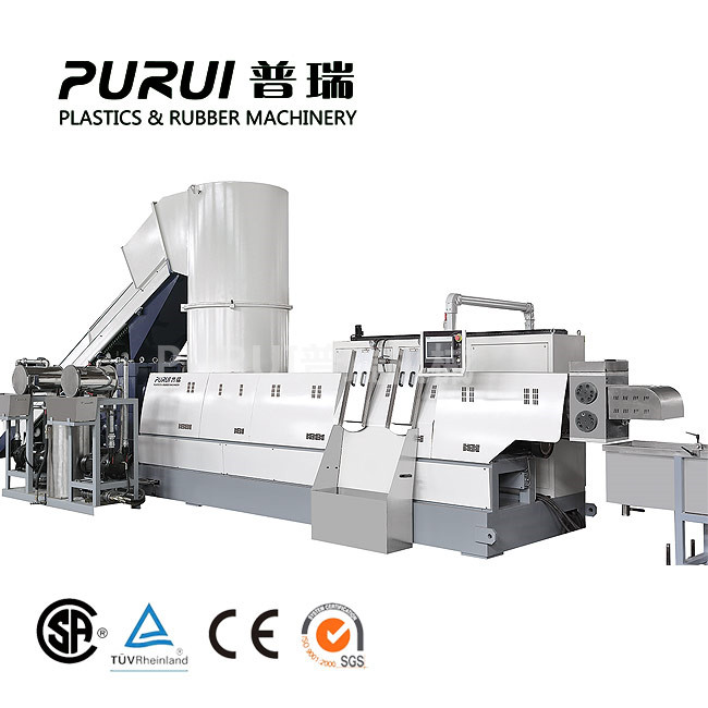 PET fabric granulating line
