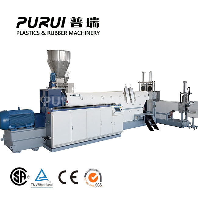 Single screw extruder machine for plastic